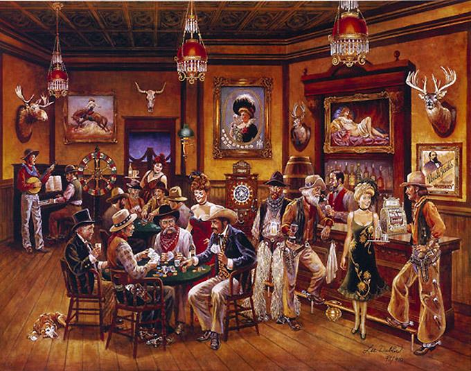 La storia del poker dai saloon al web